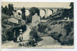 22 ST SAINT BRIEUC   Lavandieres Au Travail   Vallée Du Gouedic Viaduc Chemin De Fer  écrite 1915 Longue    - -/D14-2017 - Saint-Brieuc