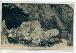 09 Montagne D'ORLU Paysans Caravane De Mulets Transport Marchandises Vers Lac De Naguilles   1910   /D15-2017 - Sonstige Gemeinden