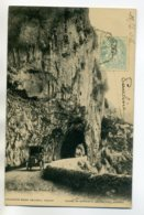 07 VALLON PONT D'ARC Jolie Petite Automobile Route Tunnel 1905 Timb    /D15-2017 - Vallon Pont D'Arc