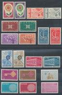 Lot De 20 Timbres** Europa 1962 à 1971 - Unused Stamps