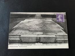 391 - Foret De COMPIEGNE Clairiere De La Victoire, 11 Novembre 1918 - La Dalle - 1928 Timbrée - Guerre 1914-18