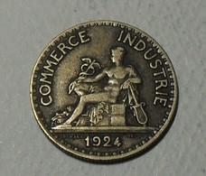 1924 - France - Bon Pour 50 CENTIMES, Chambres De Commerce, 4 Fermé, Closed 4, KM 884, Gad 421 - France