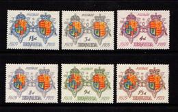 BERMUDA    1959    350th  Anniv  Of  First  Settlement    Set  Of  6    NH - Bermuda