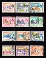 BERMUDA    1962    Various  Designs    Part  Set  Of  12    USED - Bermuda