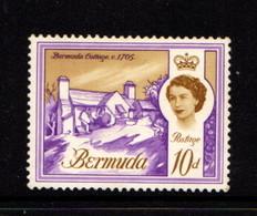 BERMUDA    1962    10d  Violet  And  Ochre    MH - Bermuda