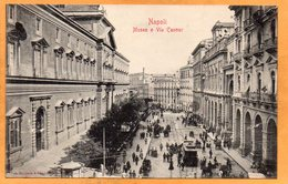 Napoli Italy 1905 Postcard - Napoli (Napels)