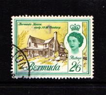 BERMUDA    1962    2/6  Brown  Bluish  Green  And  Olive  Yellow    USED - Bermuda