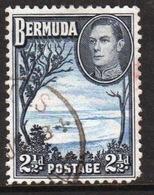 Bermuda George VI 2½d Single Stamp From The 1938 Definitive Set. - Bermuda