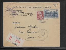 France - Lettre Recommandée - Poststempel (Briefe)