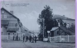 (2366) Beeersel - Lot - Place De La Gare Et La Passerelle - 1927 - Beersel