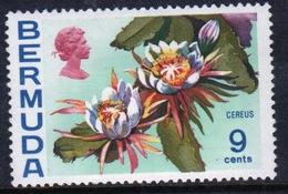 Bermuda Elizabeth II 1970 Single 9c Stamp From The Flowers Definitive Set. - Bermuda