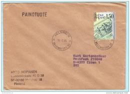 FINNLAND FINLAND SUOMI Brief Cover Lettre 965 Banknoten  (27099) - Finlandia