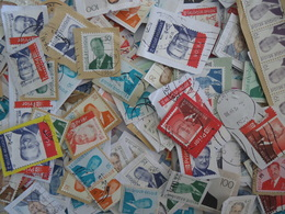 Belgique - Albert II - Petit Lot De 700 Timbres° Sur Fragments - Postzegels