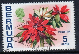 Bermuda Elizabeth II 1970 Single 5c Stamp From The Flowers Definitive Set. - Bermuda
