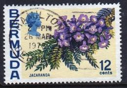 Bermuda Elizabeth II 1970 Single 12c Stamp From The Flowers Definitive Set. - Bermuda