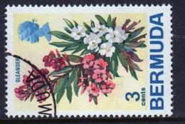 Bermuda Elizabeth II 1970 Single 3c Stamp From The Flowers Definitive Set. - Bermuda