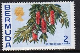 Bermuda Elizabeth II 1970 Single 2c Stamp From The Flowers Definitive Set. - Bermuda