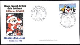 10ème Marché De Noël De La Solidarité Meinau-Neuhof 10.12.2005 - 67 Strasbourg - Postmark Collection (Covers)