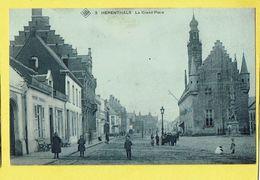 * Herentals - Herenthals (Antwerpen) * (SBP, Nr 3) La Grand'Place, Grote Markt, Animée, Enfants, TOP, Unique, Rare - Herentals