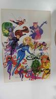 Poster Doble: The Women Of Marvel (Bruce Timm) - Phoenix (Greg Land). Proveniente De Women Of Marvel Posterboo... - Bücher, Zeitschriften, Comics