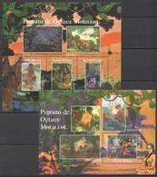 BC589 2011 GUINE GUINEA-BISSAU ART PINTURA DE OCTAVE MORILLOT 1BL+1KB MNH - Art