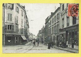 * Le Mans (Dép 72 - Sarthe - France) * (ND Phot, Nr 181 - Edition L. Jomiaux) Rue Nationale, Magasin, Boutique, Shop - Le Mans
