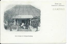Nederlands-Indië,Sumatra Westkust,Hotel Merapi Te Padang-Pandjang - Indonesia
