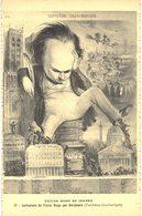 Carte POSTALE  Ancienne De VICTOR HUGO, Caricature De Benjamin (Panthéon Charivarique) - Scrittori