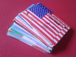 LOTE LOT DE 139 POSTAL POSTALES CARDS TYPE POST CARD QSL RADIOAFICIONADOS RADIO AMATEUR GRUPPO ALFA TANGO, SIERRA....ETC - Tarjetas QSL
