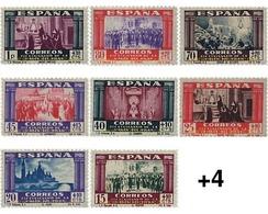 "Ref. 340823 * HINGED * - SPAIN. 1940. 19th CENTENARY OF THE ARRIVAL TO ZARAGOZA OF THE ""VIRGEN DEL PILAR"" . 19 CENTENARI - 1931-Aujourd'hui: II. République - ....Juan Carlos I"