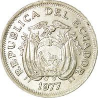 Monnaie, Équateur, Sucre, Un, 1977, TTB, Nickel Clad Steel, KM:83 - Equateur