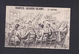 Vente Immediate Nantes Beurre Blanc Le Repas  (illustrée Humour ) - Nantes