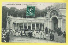 * Le Mans (Dép 72 - Sarthe - France) * (Phototypie J. Bouveret, Nr 18) Exposition, Expo 1911, Village Noir Et Les Jardin - Le Mans