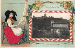 HOHKONIGSBURG, ELS ( Elsasserin - Alsacienne ) - France