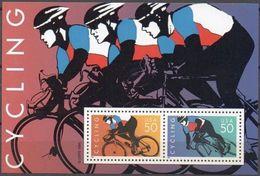 USA 1996: CYCLING Sheetlet 2 X 50c ** MNH - Cycling