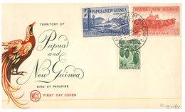 (64) Papua New Guinea FDC Cover - 1960 - Papouasie-Nouvelle-Guinée