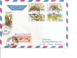 Madagascar ( Lettre Recommandée Par Avion De 1981 De Antananarive Vers L'Autriche à Voir) - Madagascar (1960-...)