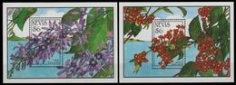 Nevis 1993 - Mi-Nr. Block 62-63 ** - MNH - Blumen / Flowers - St.Kitts Und Nevis ( 1983-...)