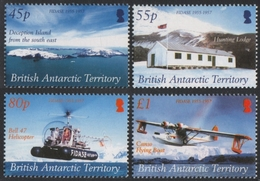 BAT / Brit. Antarktis 2005 - Mi-Nr. 400-403 ** - MNH - Expedition - FIDASE - Ungebraucht
