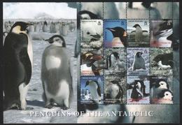 BAT / Brit. Antarktis 2006 - Mi-Nr. 422-433 ** - MNH - Pinguine / Penguins - Ungebraucht