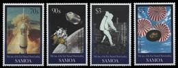 Samoa 1999 - Mi-Nr. 900-903 ** - MNH - Raumfahrt / Space - Amerikanisch-Samoa