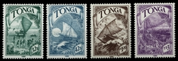 Tonga 1990 - Mi-Nr. 1128-1131 ** - MNH - Schiffe / Ships - Tonga (1970-...)