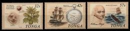 Tonga 1989 - Mi-Nr. 1069-1071 ** - MNH - Schiffe / Ships - Tonga (1970-...)