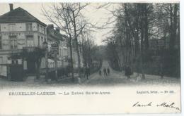Brussel-Laken - Bruxelles-Laeken - La Drève Sainte-Anne - Lagaert,Brux - No 386 - Laeken