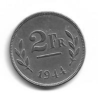 Belgique 2 Francs 1944 FR/FR - Libération - 1934-1945: Leopold III