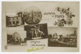 {20494} 75 Paris Exposition Des Arts Décoratifs , Multivues ; Divers Aspects - Mostre