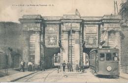 Lille EC 11 Porte De Tournai Plan Remarquable TBE - Lille