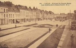 Lille EC 90 Avenue Du Peuple Belge Les Jardins De La Basse Deule Peu Courant TBE - Lille