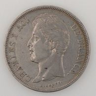 France, Charles X, 5 Francs 1828 A, TB, KM# 728.1 - France