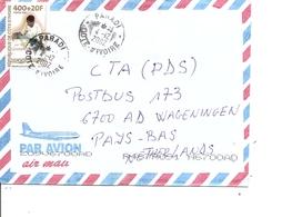 Cote D'Ivoire ( Lettre Par Avion De 2002 De Paradi Vers Les Pays-Bas à Voir) - Ivory Coast (1960-...)